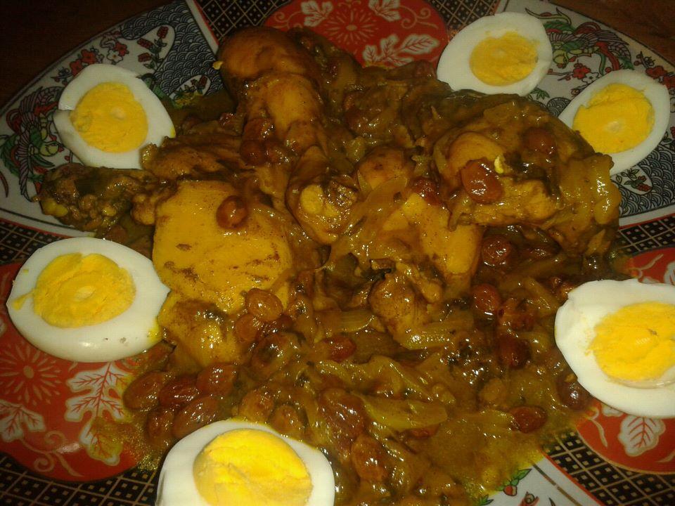 Tajines plats marocains apprenticuisto - Plat a tajine pour induction ...