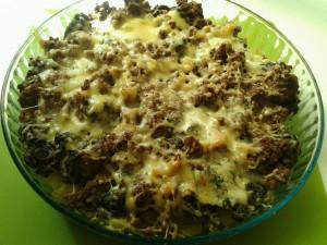 gratin de pommes de terre epinards et viande hachée dans GRATINS 994003_659350364084218_929812443_n-300x225